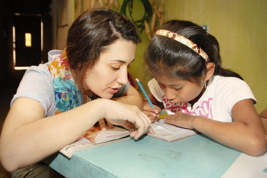 Cuidado de niños y enseñanza