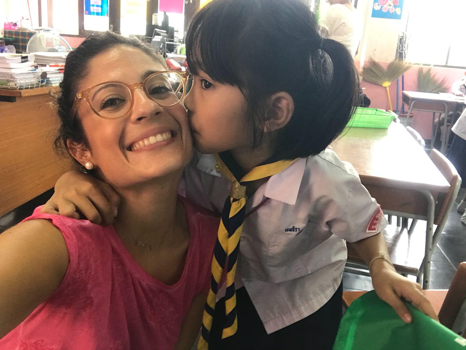 Voluntariado de cuidado de niños en Tailandia