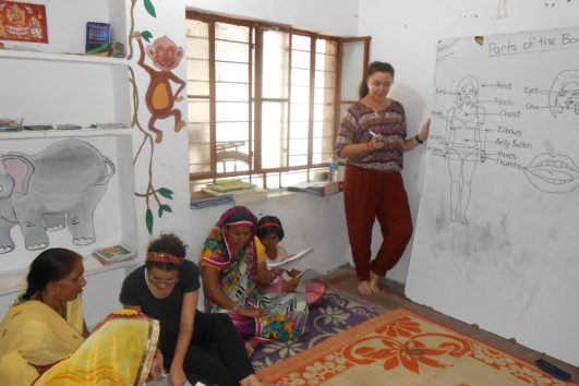 Voluntariado de Empoderamiento de la mujer en Jaipur