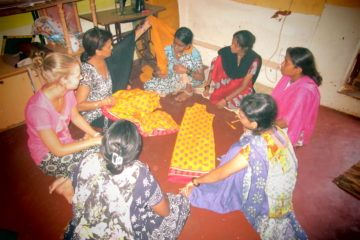 Ayuda a mujeres de India